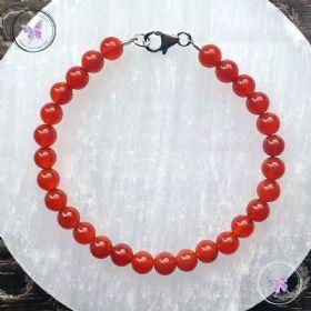 Classical Carnelian Healing Bracelet